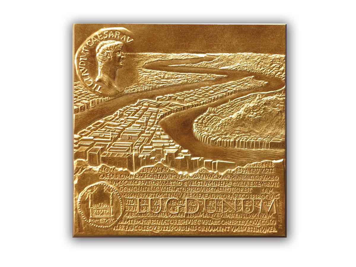 medaille_Lugdunum_table_claudienne