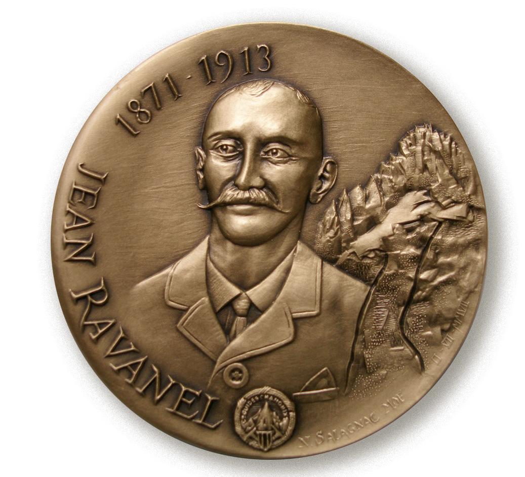 Médaille Jean RAVANEL, guide honoré en 2007
