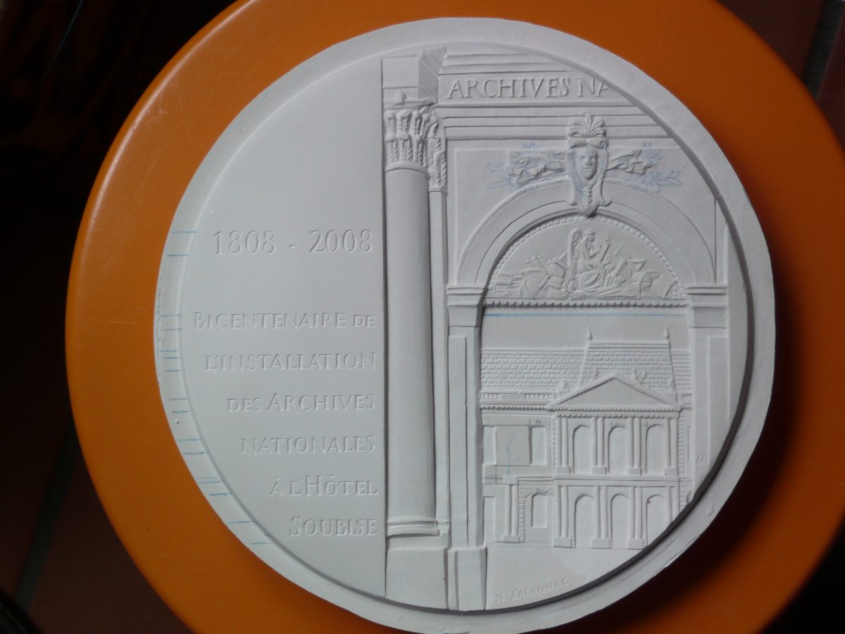 Les Archives Nationales ont 200 ans, nouvelle médaille