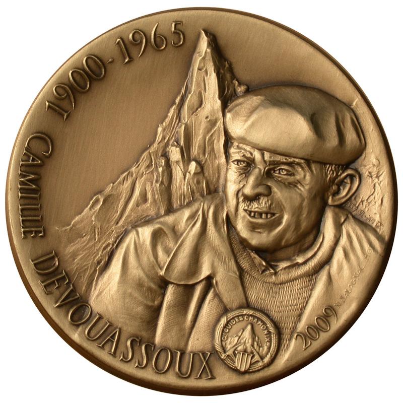 Camille DEVOUASSOUX, guide honoré en 2009