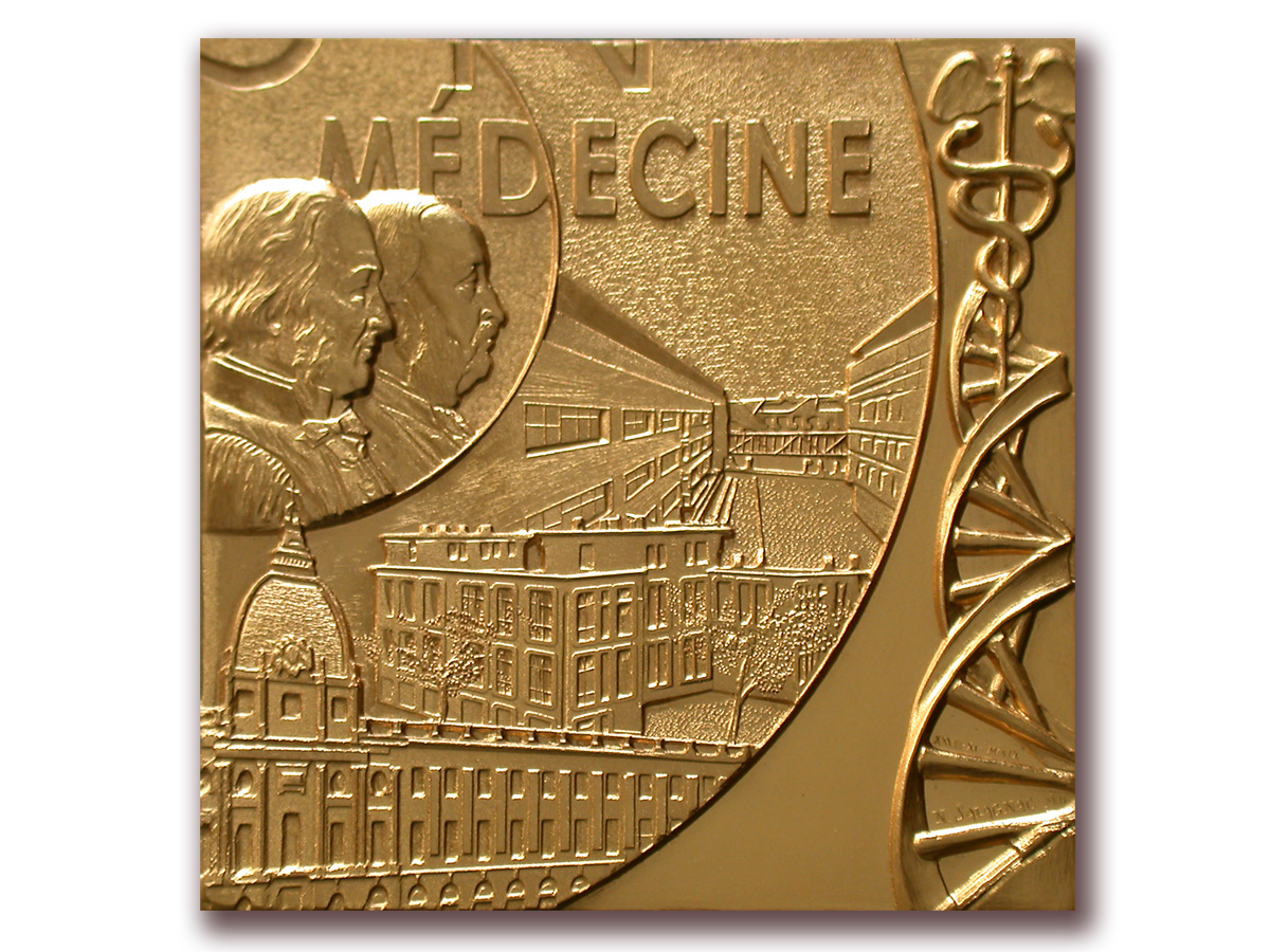 médaille_Medecine_Lyon