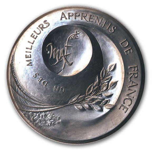 La nouvelle médaille pour les Meilleurs Apprentis de France
