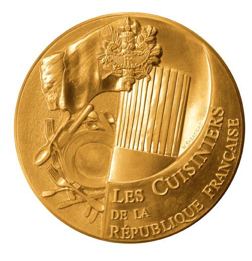 Médaille des Cuisiniers de la République françaises