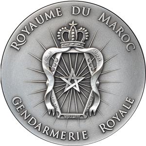 Médaille de la Gendarmerie Royale du Maroc