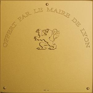 Médaille officielle de la ville de Lyon