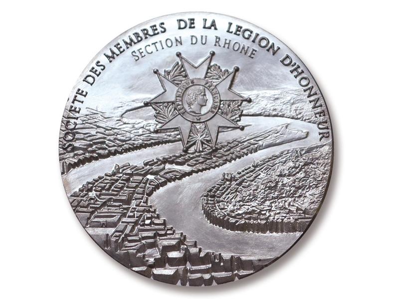 Médaille SEMLH du Rhône