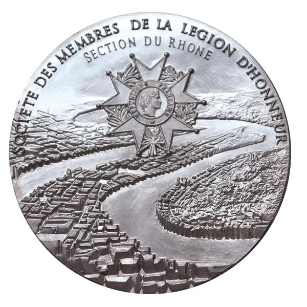 Création d'une médaille pour la SEMLH du Rhône