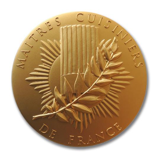 La nouvelle médaille des Maîtres Cuisiniers de France