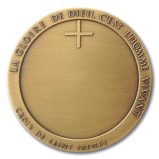 Une nouvelle médaille pour le Diocèse de Lyon