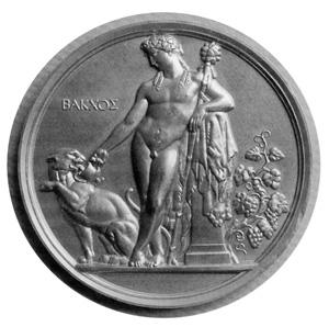 """Prix de Rome de Jules Chaplain, Bacchus et panthère"""""""