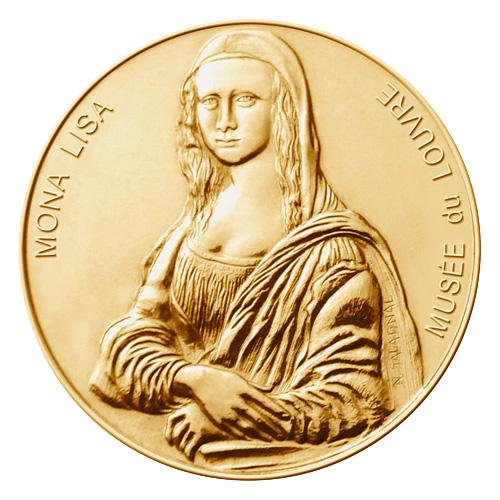 Musée du Louvre, Mona Lisa et la Victoire de Samothrace