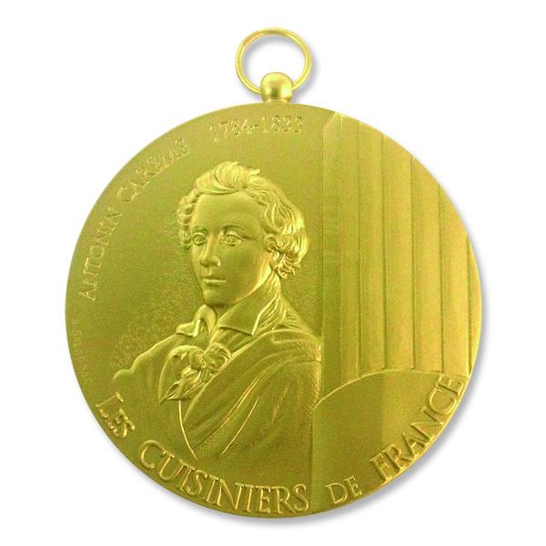 Création d'une médaille pour les Cuisiniers de France