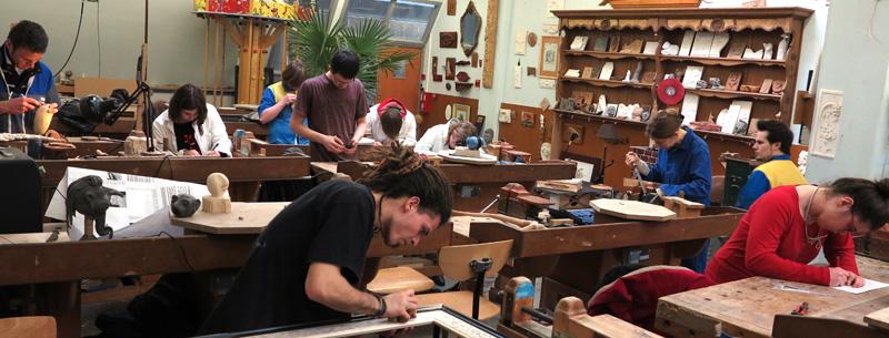 Atelier de sculpture de Moirans en Montagne