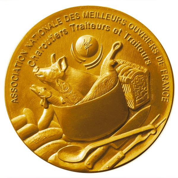 Médaille pour l'Association Nationale des MOF Charcutiers Traiteurs et Traiteurs