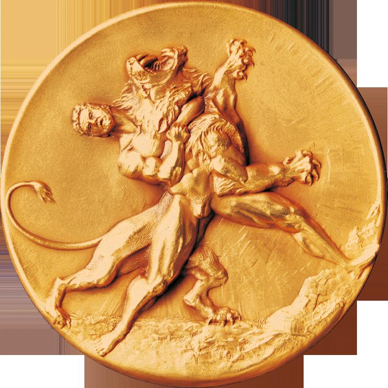 Pièce concours MOF, Hercule terrassant le lion de Némée