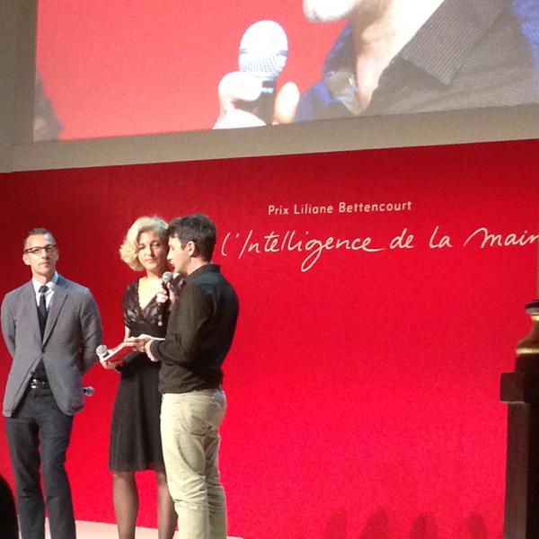 Jury 2014 pour l'Intelligence de la Main de la Fondation Bettencourt