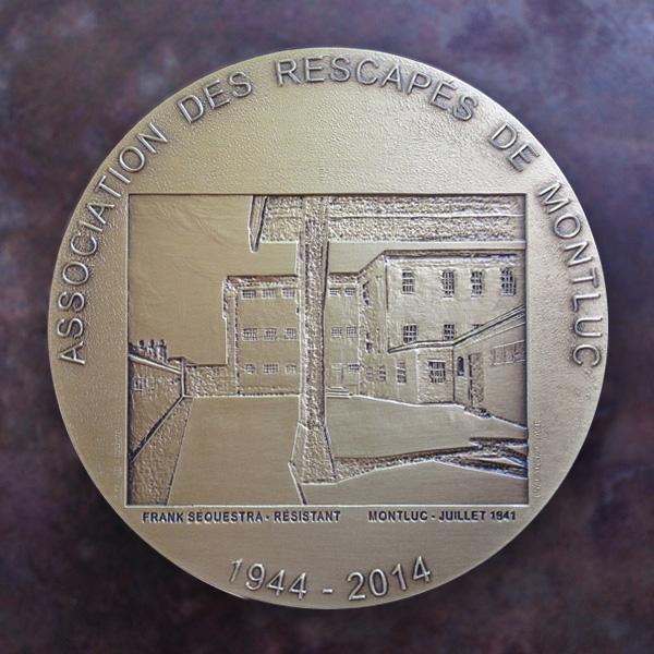 Médaille des 70 ans de l'Association des Rescapés de Montluc – Lyon