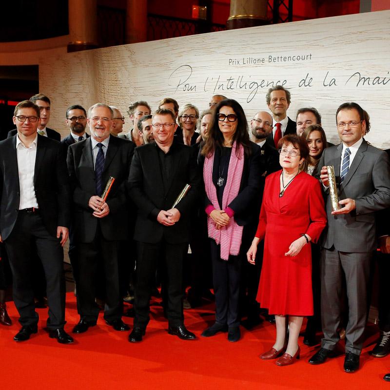 Le comité d'experts 2015 du prix pour l'Intelligence de la Main de la fondation Bettencourt
