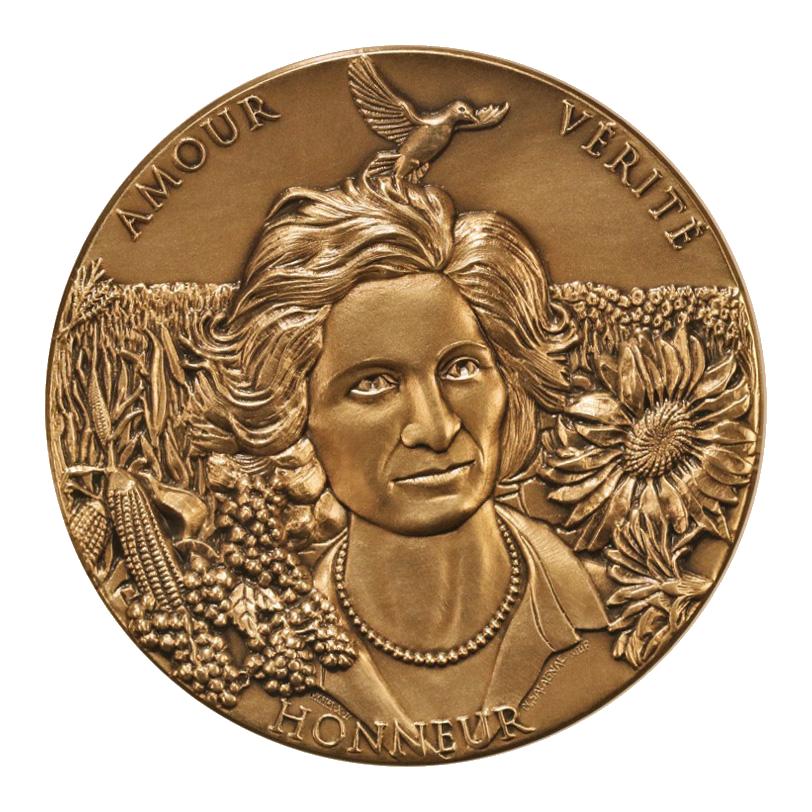 Médaille d'anniversaire de Mamina