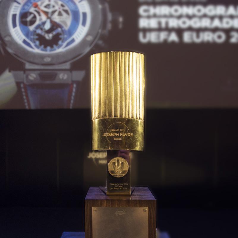 Trophées Grand Prix Joseph Favre pour la délégation suisse de l'Académie Culinaire de France