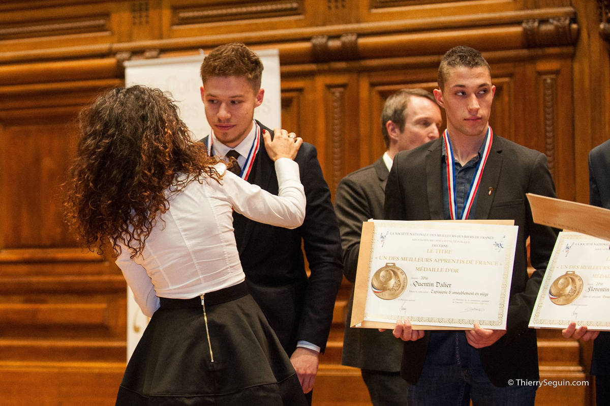 Top Remise des médailles d'or nationale MAF 2016, à la Sorbonne  PO99