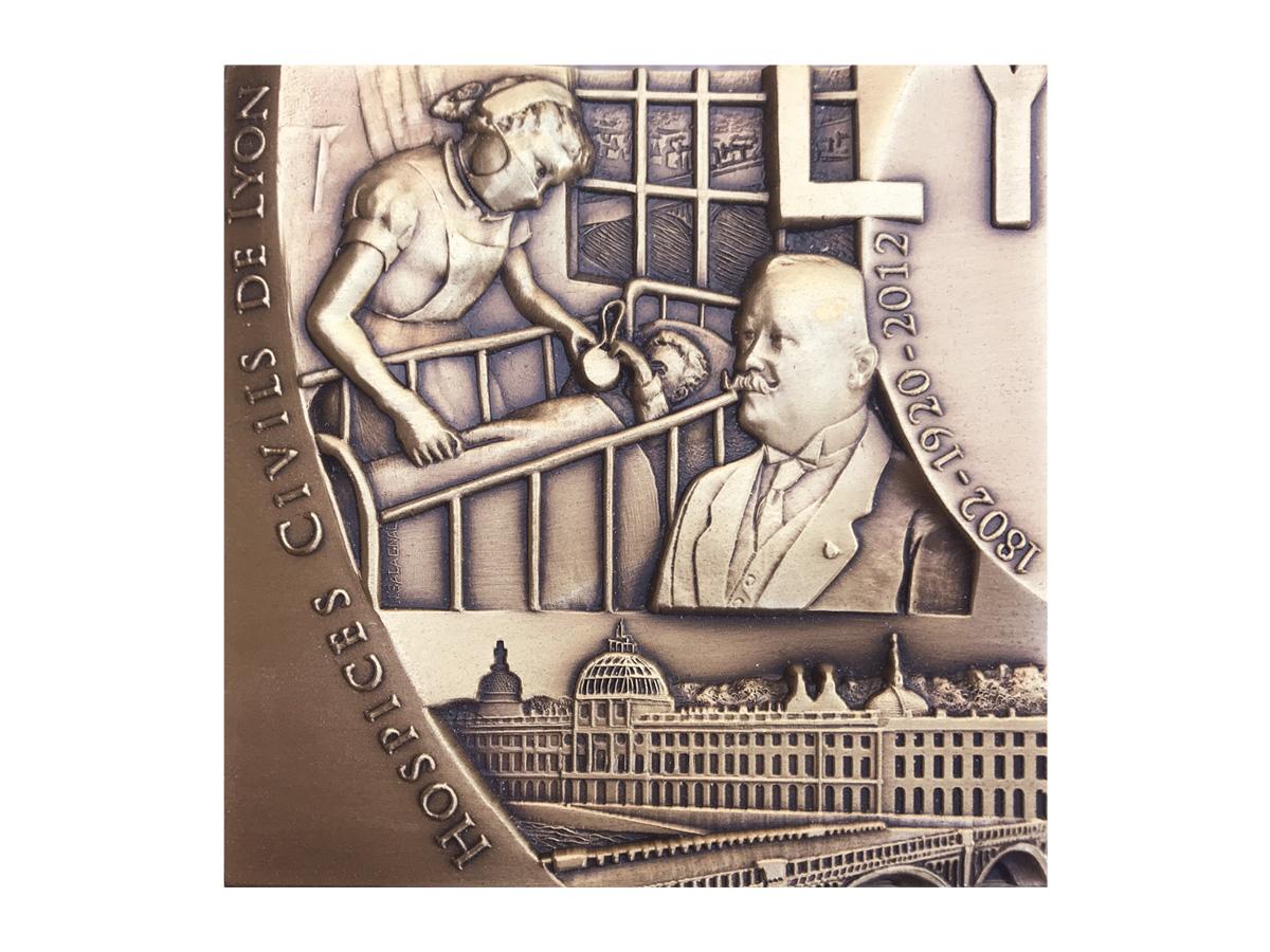 Grand Hôtel-Dieu de Lyon : Hospices Civils de Lyon – médaille n°2