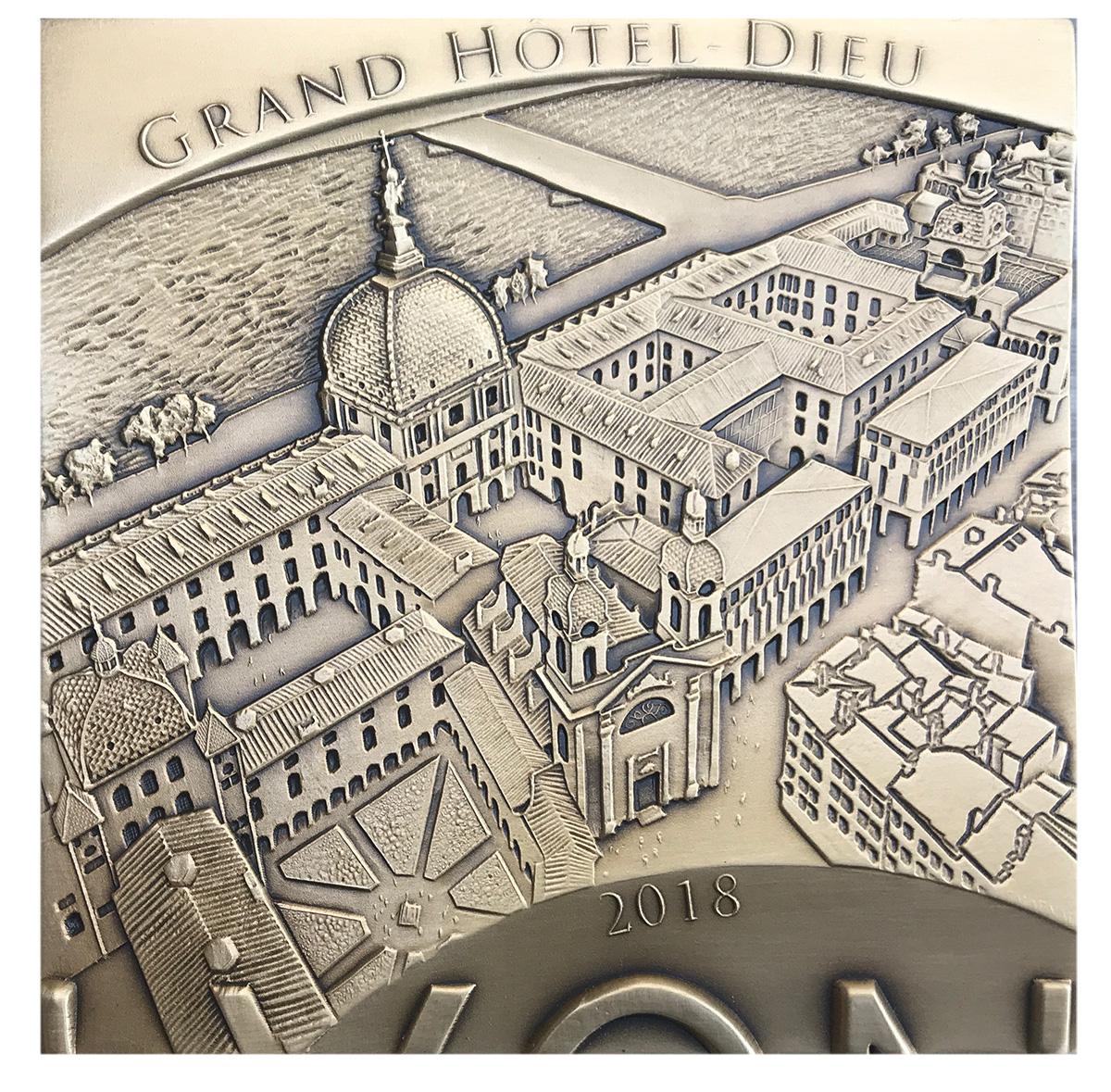 Le Grand Hôtel-Dieu de 2012 à demain – médaille n°3