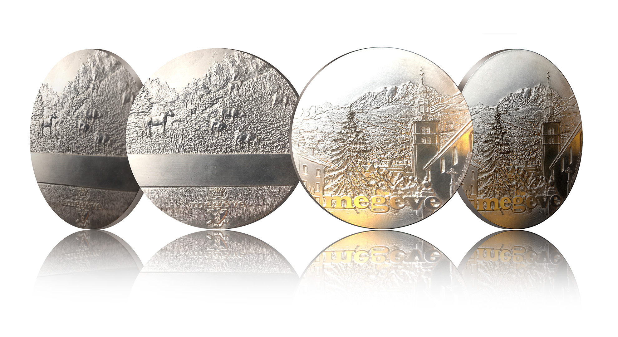 Création de la nouvelle médaille de Megève – 2019