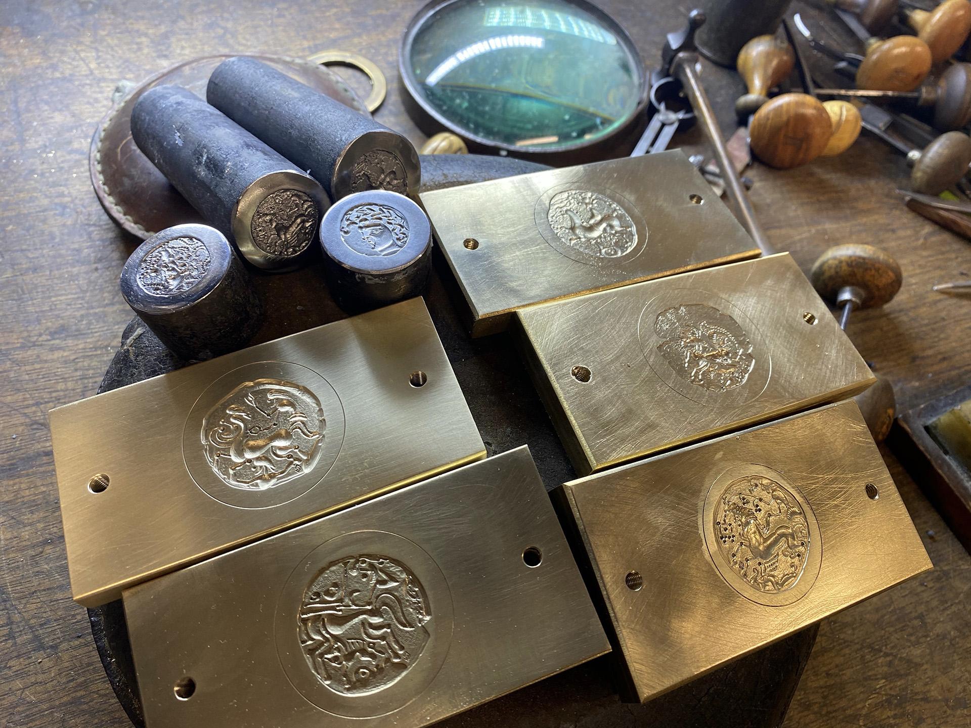 Création de matrices de Monnaies Celtes pour le Musée de Bretagne