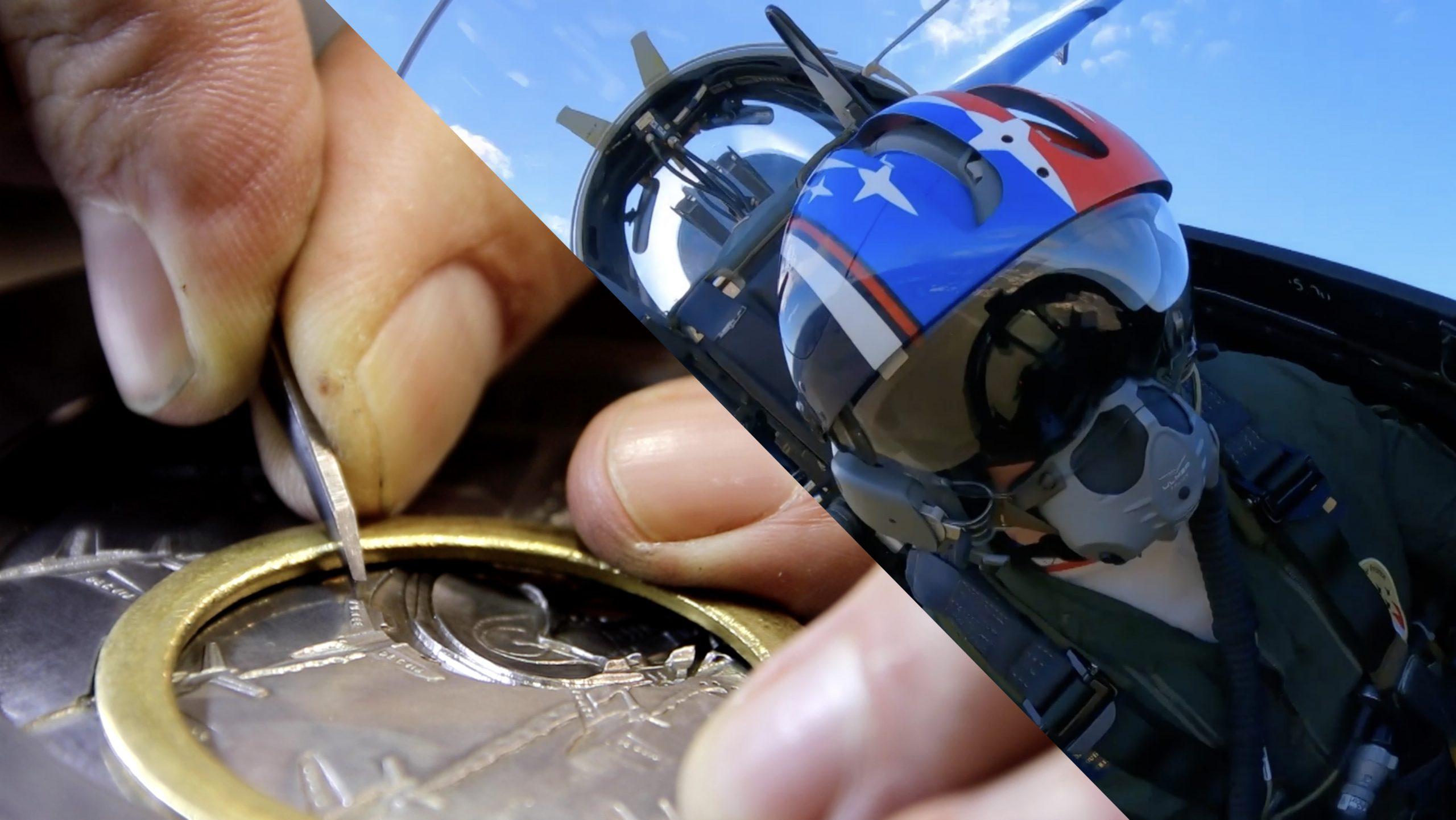Création d'une médaille pour les pilotes, mécaniciens et équipes de la Patrouille de France