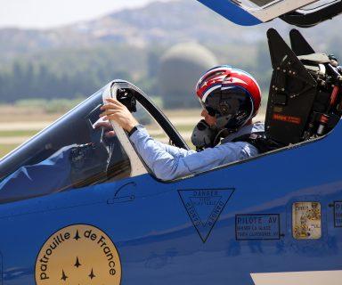 Rencontre avec les pilotes, mécaniciens et équipe de la Patrouille de France