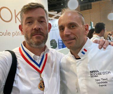 Davy Tissot MOF 2004 et Nicolas Salagnac MOF 2000
