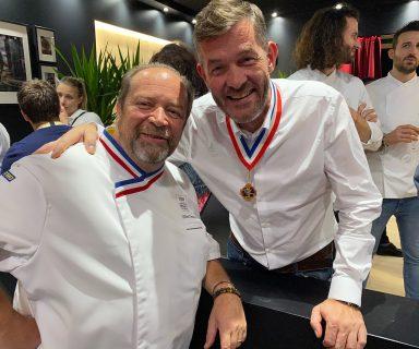 Gilles Goujon MOF 1996 et Nicolas Salagnac MOF 2000