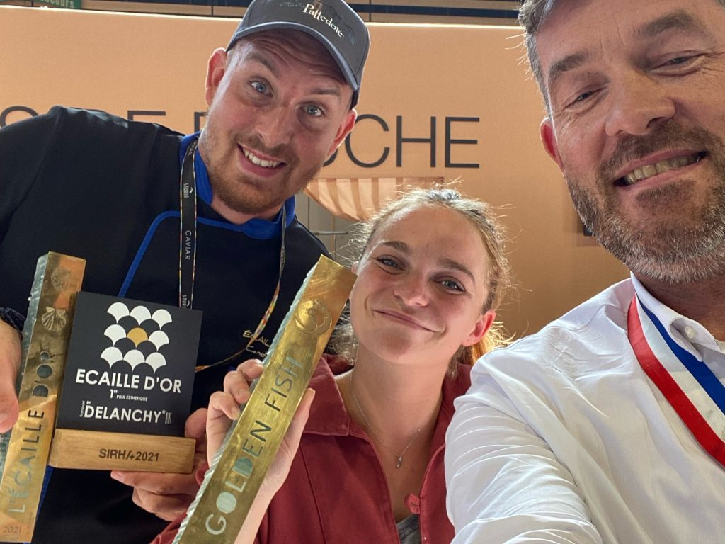 Vainqueurs Golden Fish et Ecaille d'or 2021 sur le SIRHA