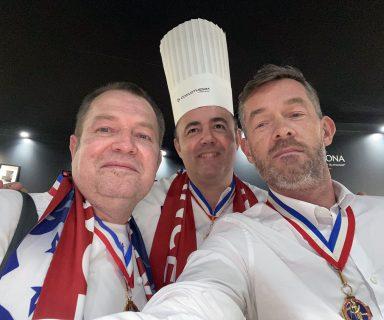 Team France Bocuse d'or avant l'annonce